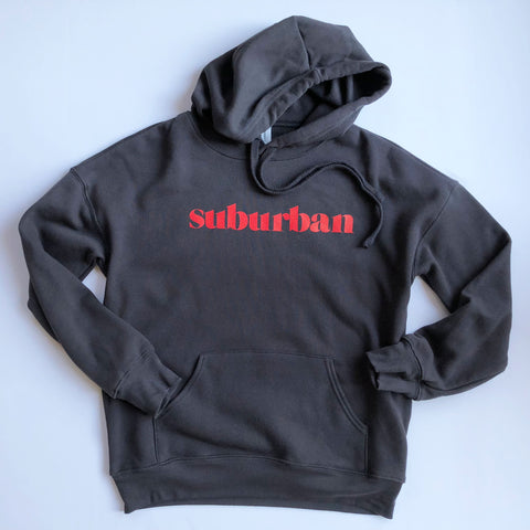 Hey Local Dark Grey Suburban Hoodie