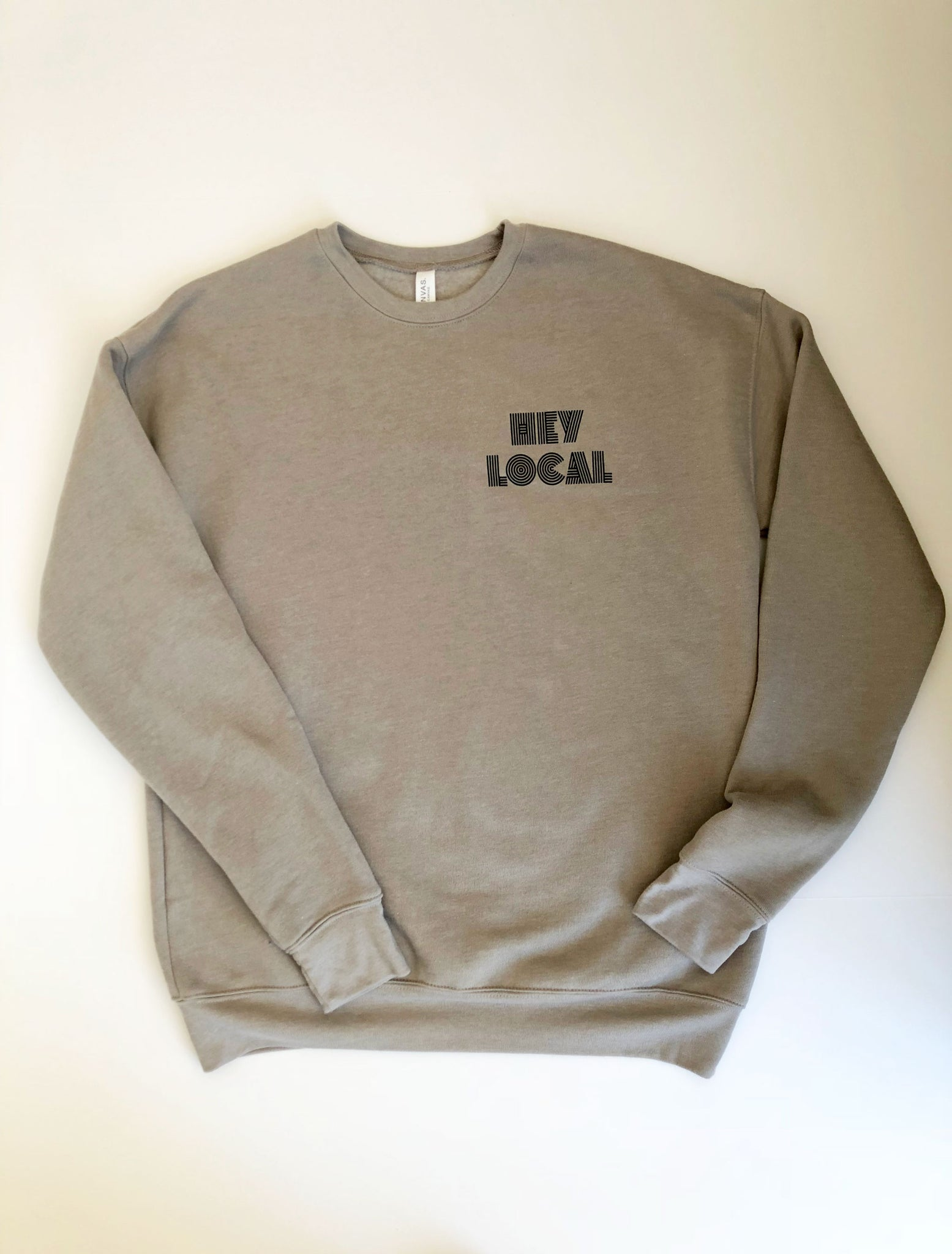 Hey Local Crewneck Logo Sweatshirt
