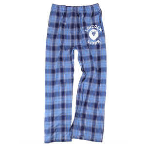 Lincoln Youth Pajama Pant - Columbia/Navy
