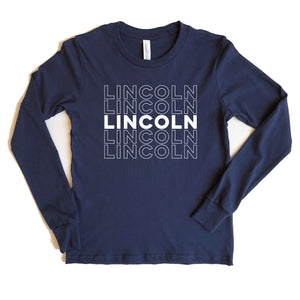Lincoln Adult Long Sleeve Tee