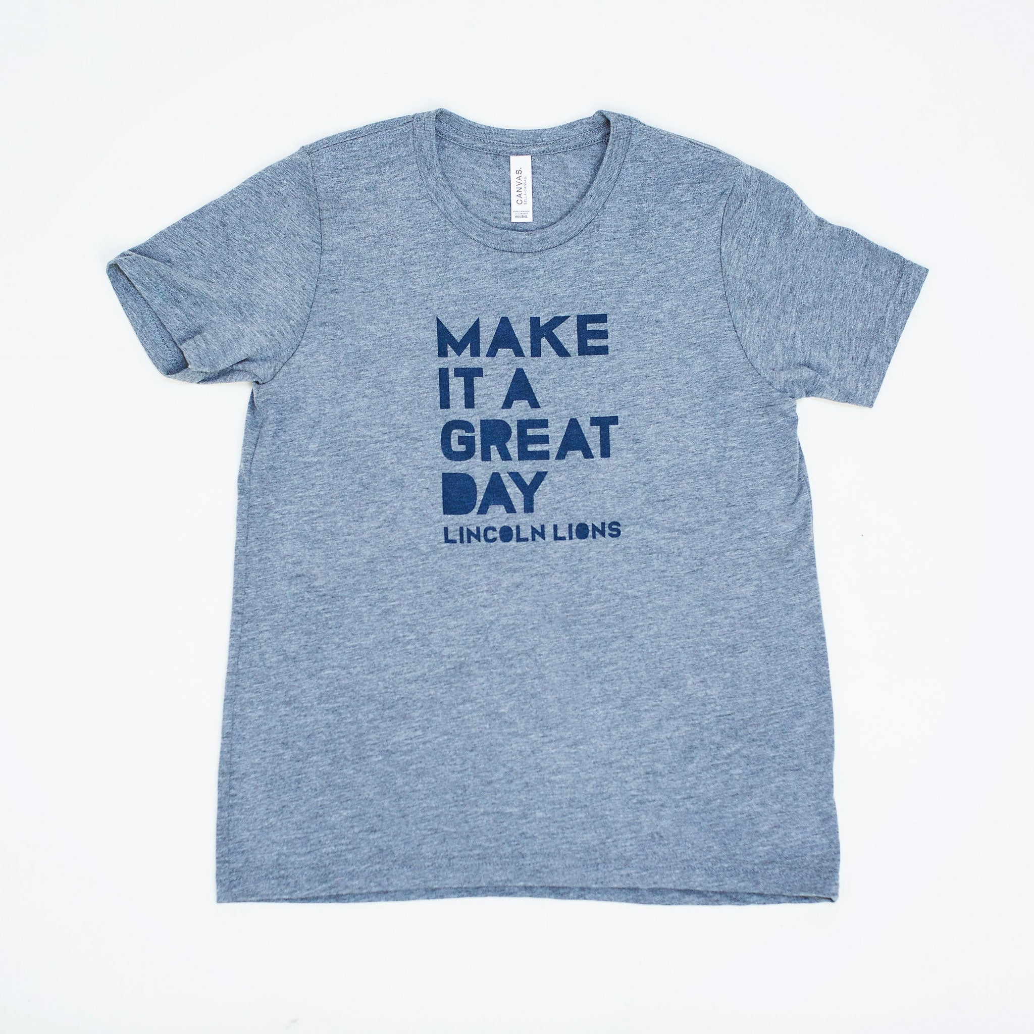 Lincoln Youth S/S Make It A Great Day Tee