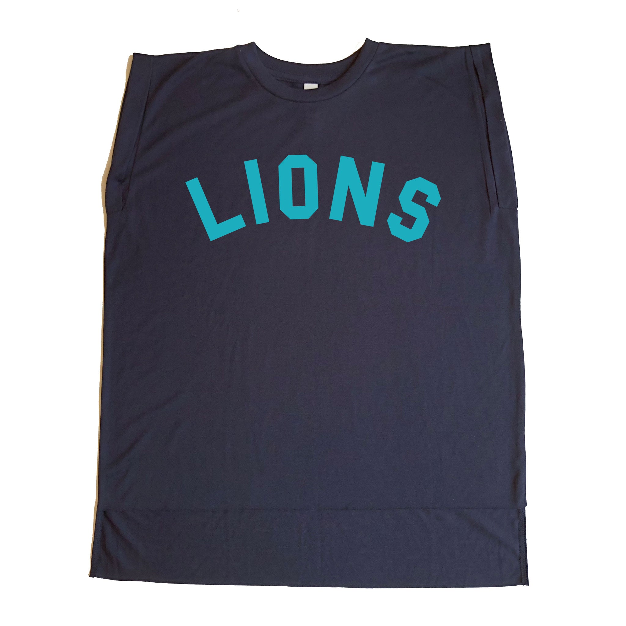 Lincoln Adult Lions Flowy Muscle Tee