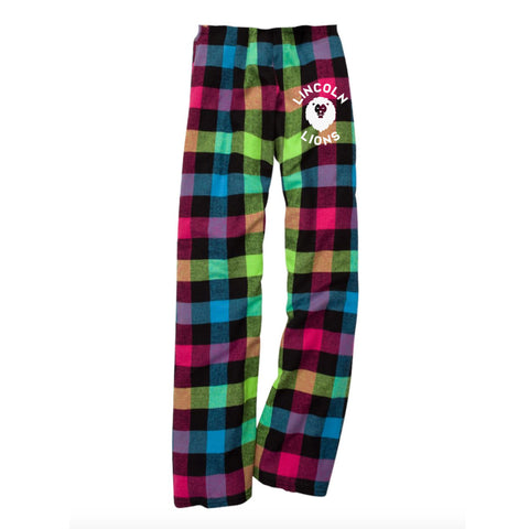 Lincoln Youth Pajama Pant - Neon