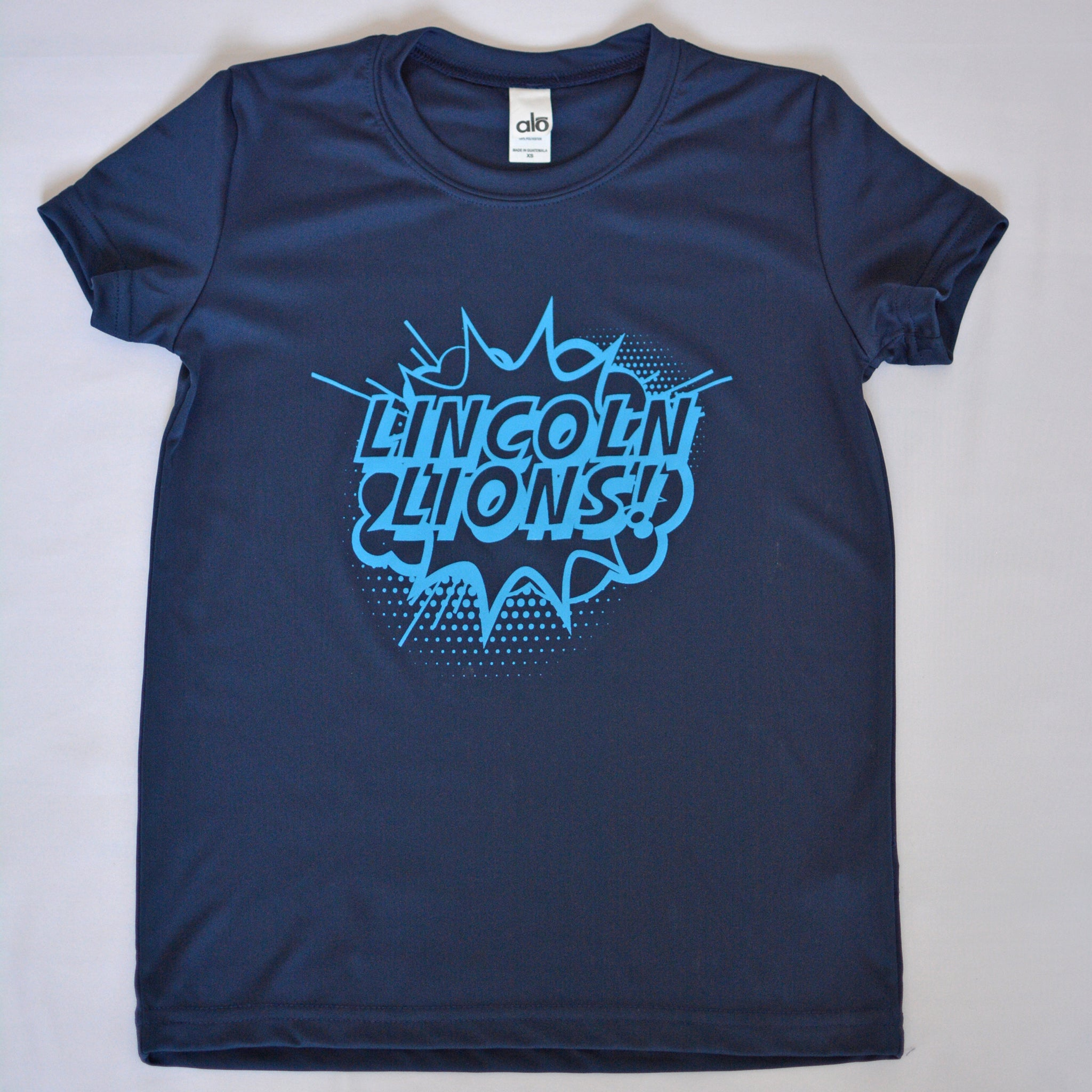 Lincoln Youth All Sport Mesh Pow Tee