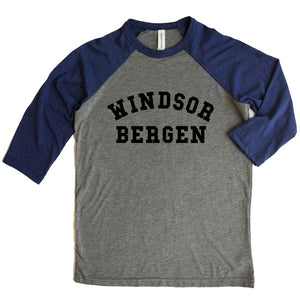 Windsor Bergen Academy Adult 3/4 Sleeve Raglan Tee