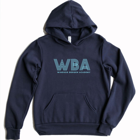 Windsor Bergen Academy Youth Navy Hoodie