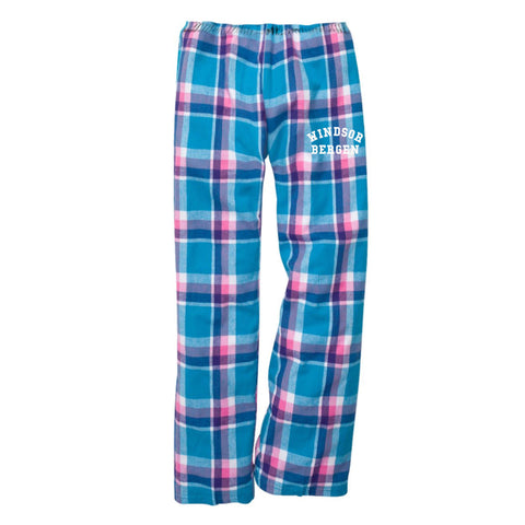 Windsor Bergen Academy Youth Pajama Pants - Pacific Surf