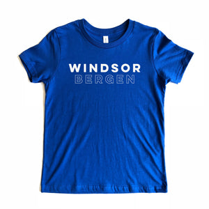 Windsor Bergen Academy Adult Royal Blue Tee