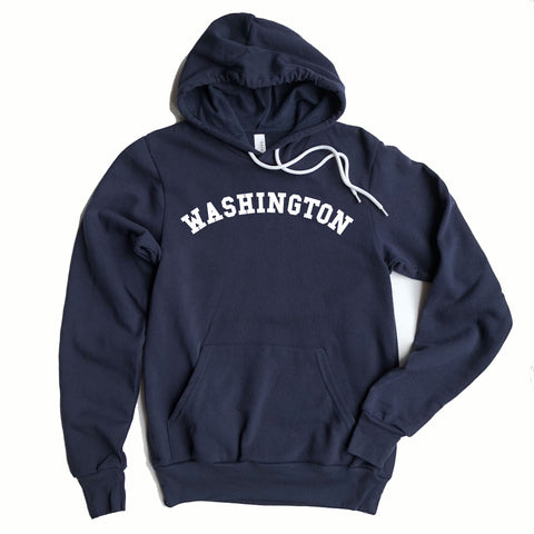 Washington Adult Hooded Sweatshirt