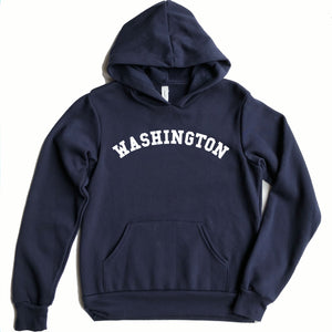 Washington Youth Hooded Sweatshirt