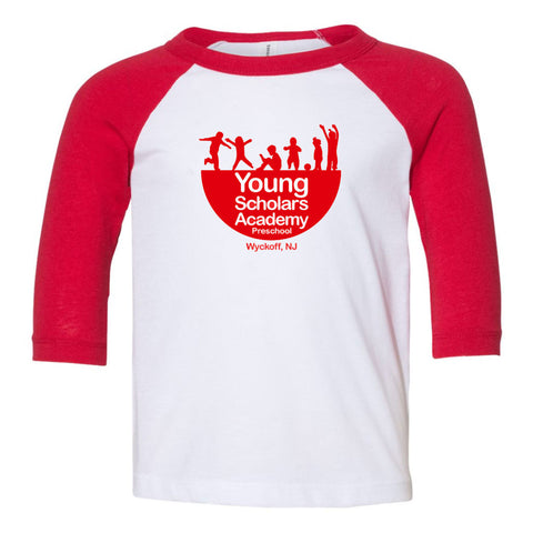 Young Scholars Academy Youth Raglan Tee