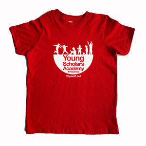Young Scholars Academy Adult Red Tee