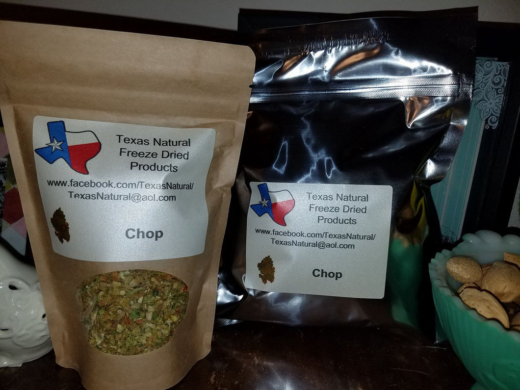 Freeze Dried Chop (Small bag)