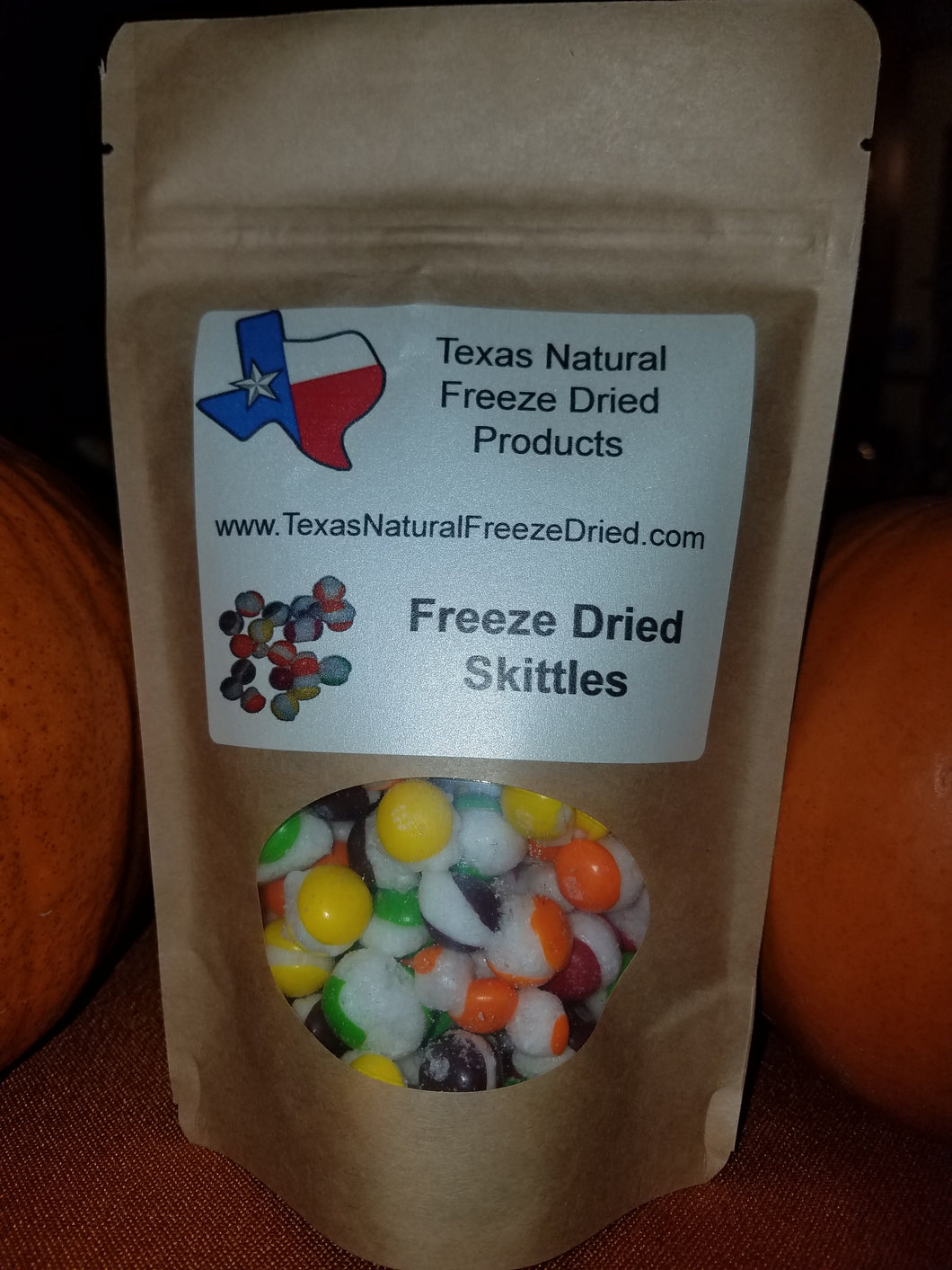 Freeze Dried Skittles Candy