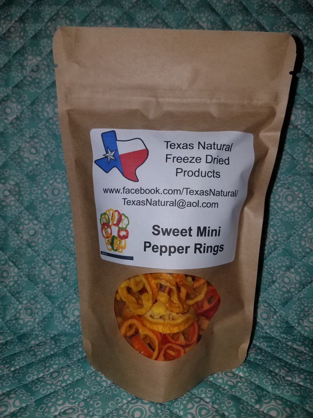 Freeze Dried Sweet Peppers