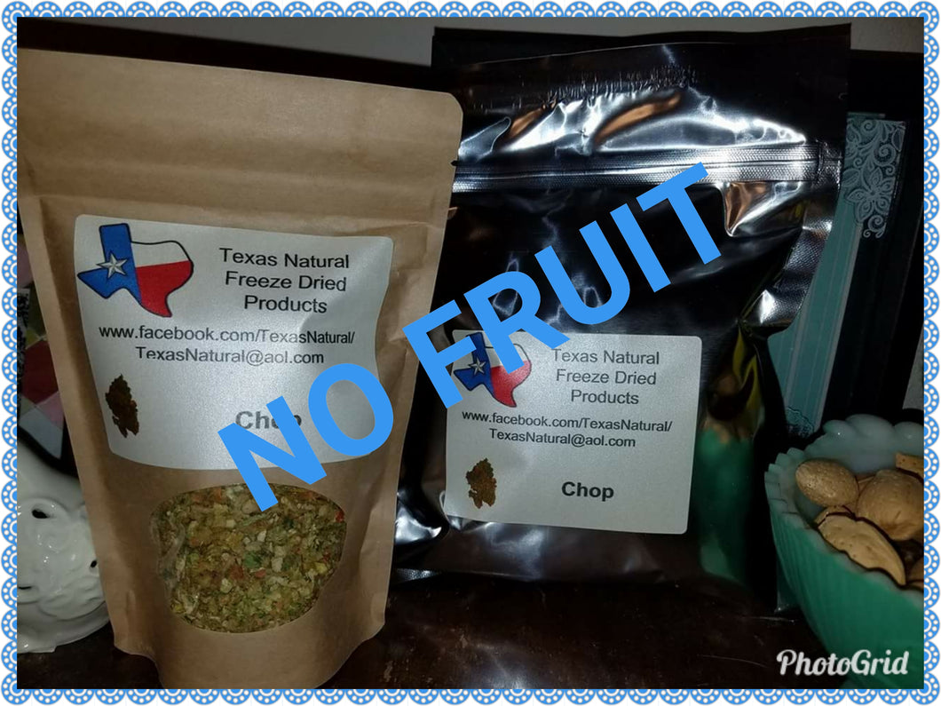 Freeze Dried Chop (Customized-NO FRUIT)