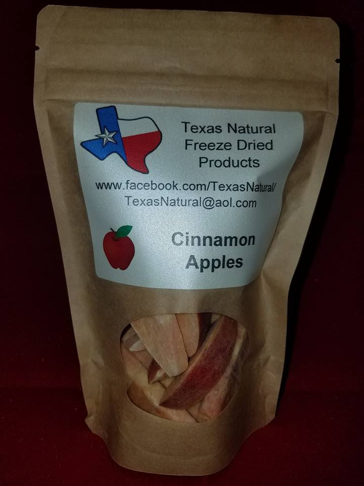 Freeze Dried Cinnamon Apple Slices