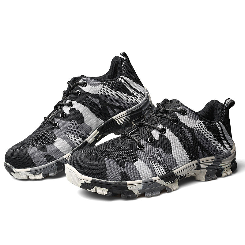 "Grand Happy Store Gray / 7.5 Indestructible Military ""Battlefield Shoes"""