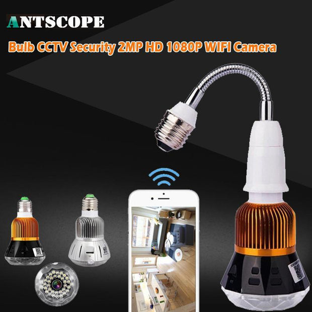 Grand Happy Store 1080P Bulb Security Camera System