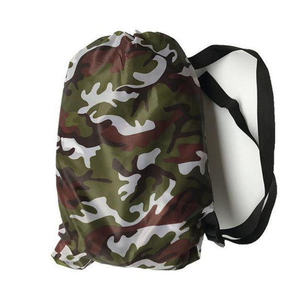 Grand Happy Store Camouflage / 1 Qty Fast Inflatable Laybag Air Sleeping Bag