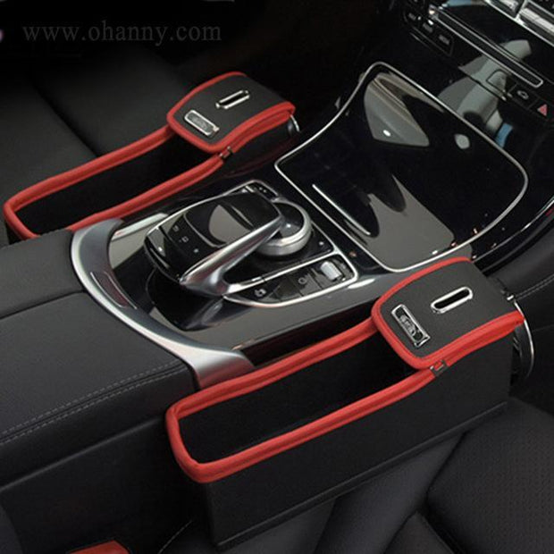 Grand Happy Store Car Seat Crevice Storage Box