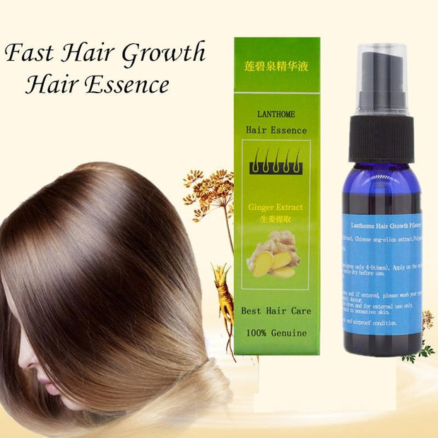 Ginger Extract Fast Hair Growth Spray - Grand Happy Store