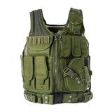 Police Military Tactical Vest Wargame Body Armor Sports Wear Hunting Vest CS Outdoor Products Equipment with 5 Colors