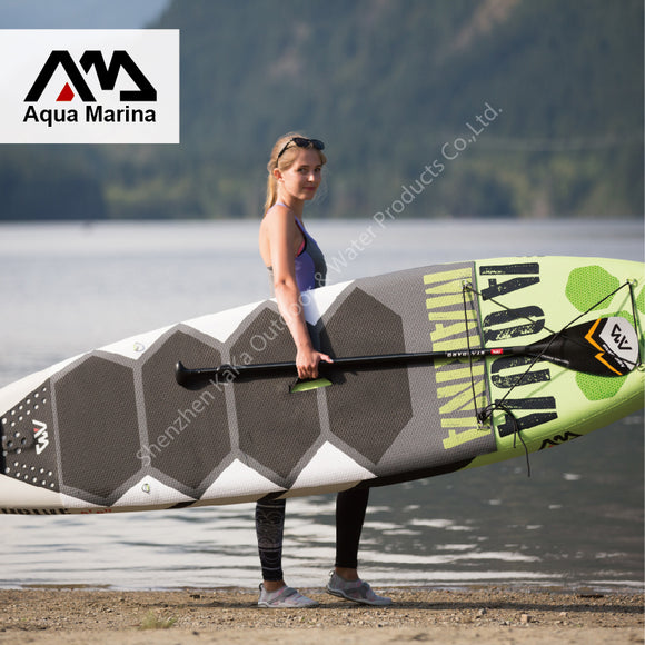 2017 9.8' * 2.5' *0.5'  AQUA MARINA THRIVE with pedal inflatable board stand up paddle board surf board surfboard B0035