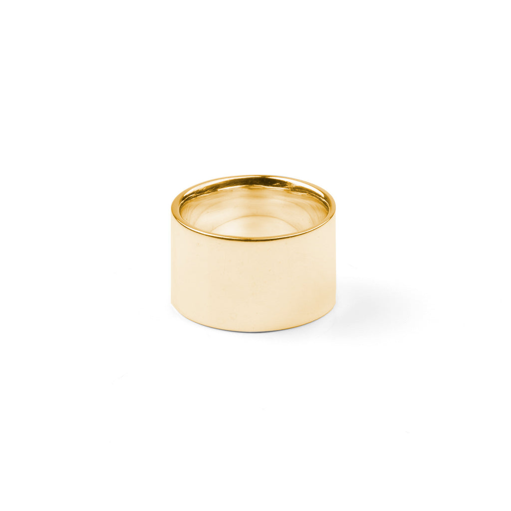 322 Custom Gold Cigar Ring (E)