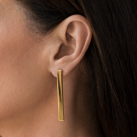 Single Bar Earrings