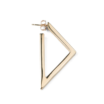 Triangle Hoop Earring Single