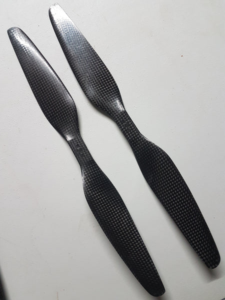 "13x7"" Carbon Fiber CW CCW Propeller  (1Pair) Demon Power systems"