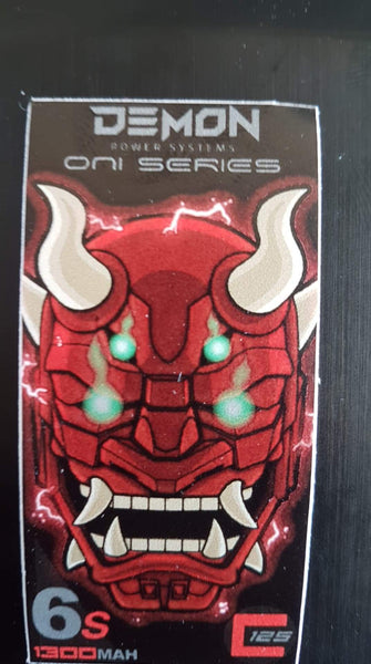 6s 1300mah Demon Power Systems ONI Series XT60