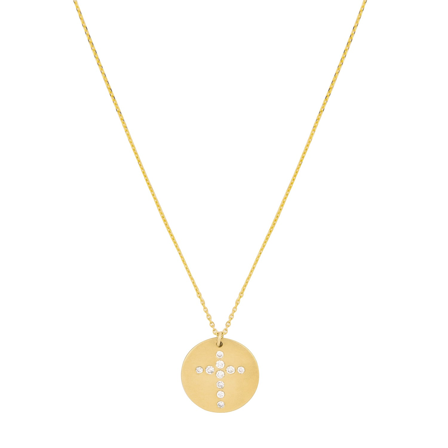 diamond dona d simple necklace of collections pinkgold curated