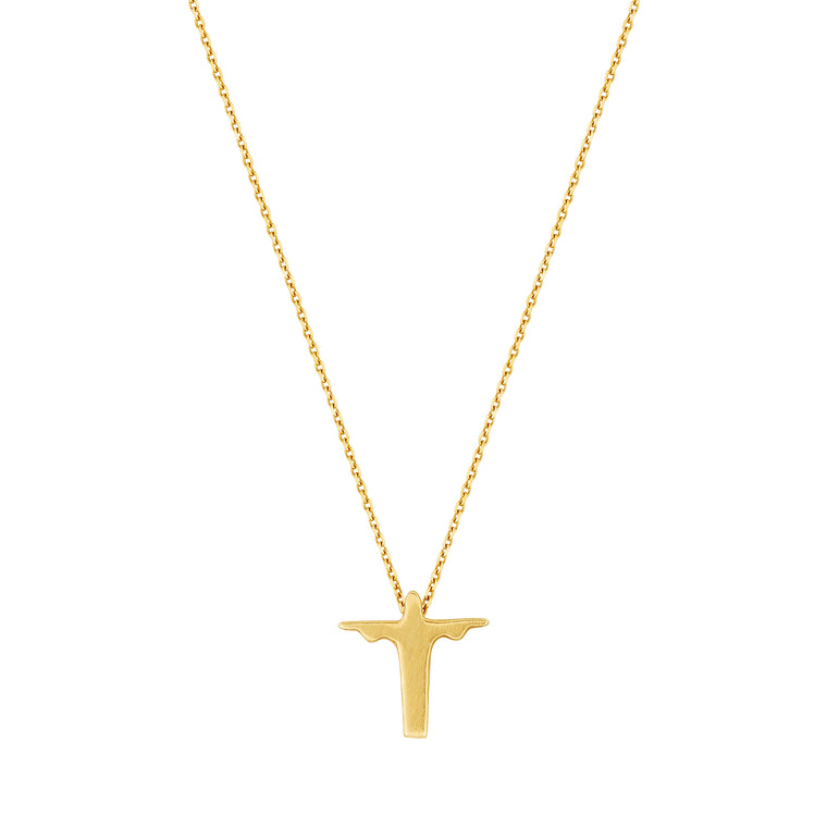 The Christ Necklace in 10k Gold Petite