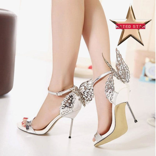 Beaut Butterfly Wing Heels (More Colors Available) - Rated Star