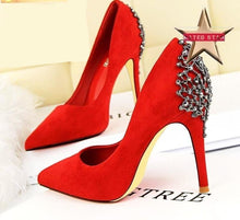 Julia Crystal Heels (More Colors Available) - Rated Star