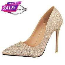 Milinia Rhinestone Pump High Heels (More Colors Available) - Rated Star