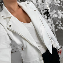 Belted Faux Leather Jacket (More Colors Available) - Rated Star