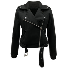Motorcycle Faux Leather Jacket (More Colors Available) - Rated Star