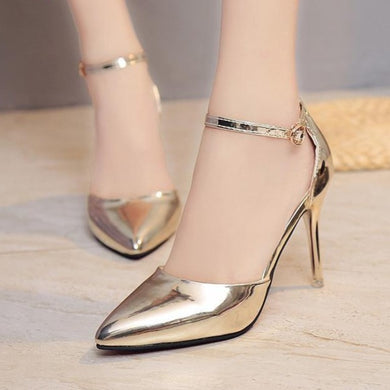 Ankle Strap High Heels (More Colors Available)