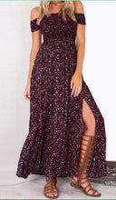 Strapless Vintage Maxi Dress (More Colors Available)