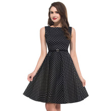 Women Summer Dress 2017 plus size clothing Audrey hepburn Floral robe Retro Swing Casual 50s Vintage Rockabilly Dresses Vestidos