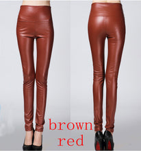 Faux Leather High Waist Pants (More Colors Available) - Rated Star