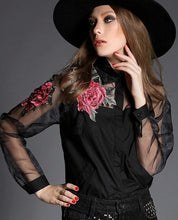 Ashley Blouse Long-Sleeve Shirt (More Colors Available) - Rated Star