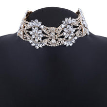 Crystal Collar Choker Necklace (More Colors Available) - Rated Star