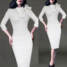 Vintage Pinup Pencil Dress (More Colors Available)