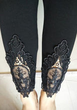Lace Decoration Leggings (More Colors Available)