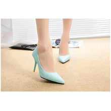 Candy Color Pointed High Heels (More Colors Available)