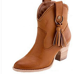 Southern Ankle Boots With Tassels (More Colors Available) - Rated Star